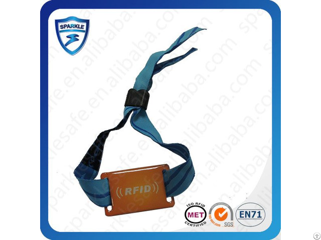 Nfc Nylon Rfid Wristband