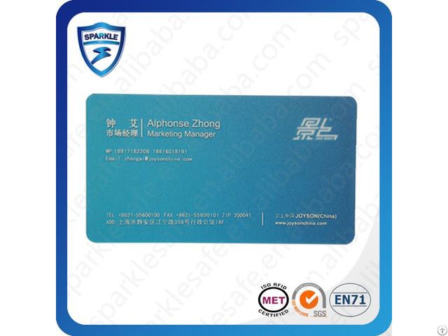 Low Cost Metal Business Rfiad Card