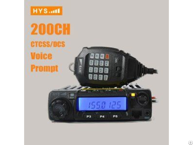 Single Band Mobile Radio Transceiver Vhf Uhf Tc 135