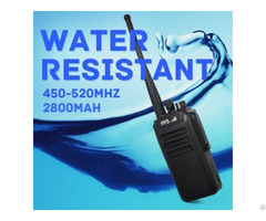 Long Range Ip67 Waterproof Walkie Talkie Tc Wp10w