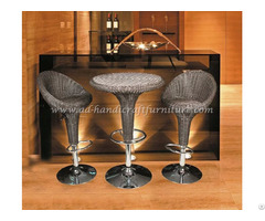 Wicker Rattan Bar Stools