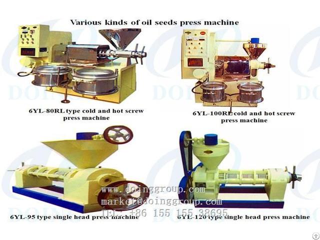 Long Working Life Screw Oil Press Machine