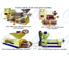 Long Working Life Screw Oil Press Machine