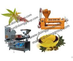 Moringa Oil Pressing Machine