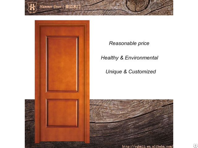 Hotel Entry Doors With Customized Design Styles And Door Frame