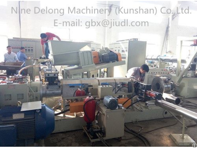 M20l Single Screw Granulator