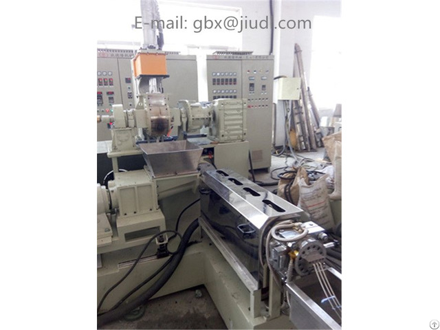 M35l Jdl100 Single Screw Kneader Sheet Extruder