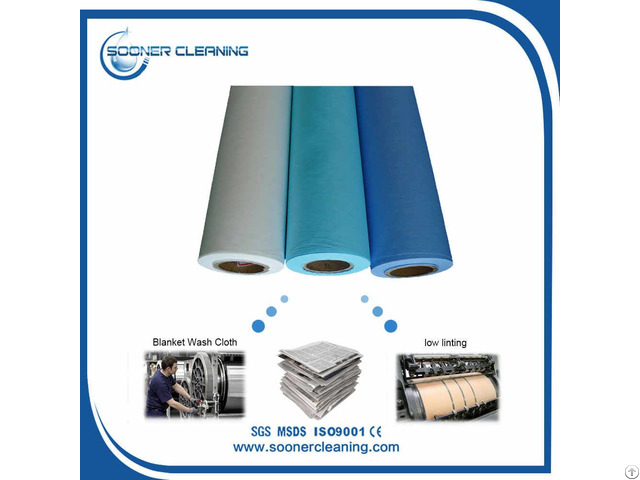 Automatic Blanket Wash Cloth Roll Manufacture
