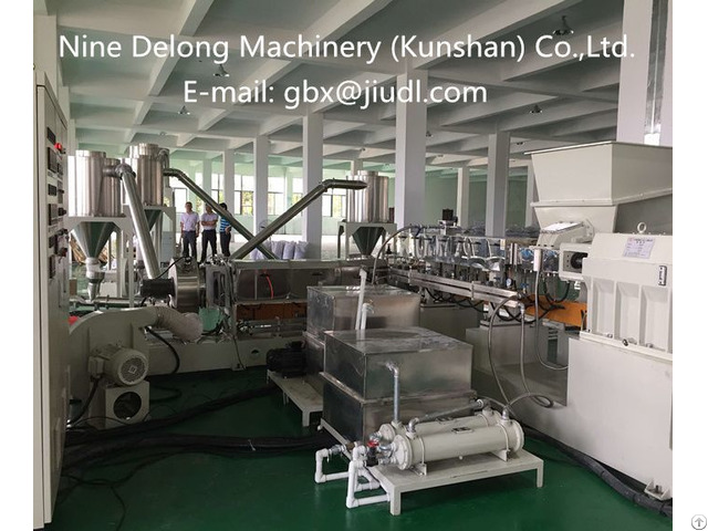 High Torque Two Stage Extruder Pelletizing