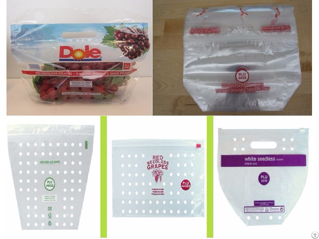 Packaging Bags For Fresh Fruits And Vegetables