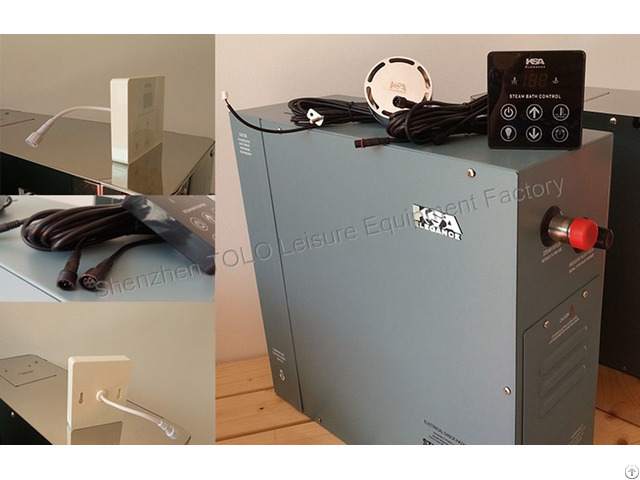 Steam Room Machine Generator 5kw Model Key