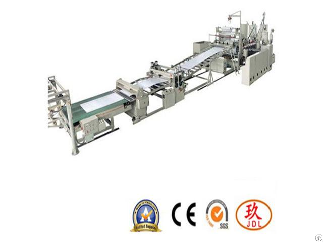 Calcium Carbonate Sheet Extrusion