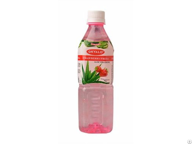 Okyalo: Strawberry Aloe Vera Drink, Okeyfood