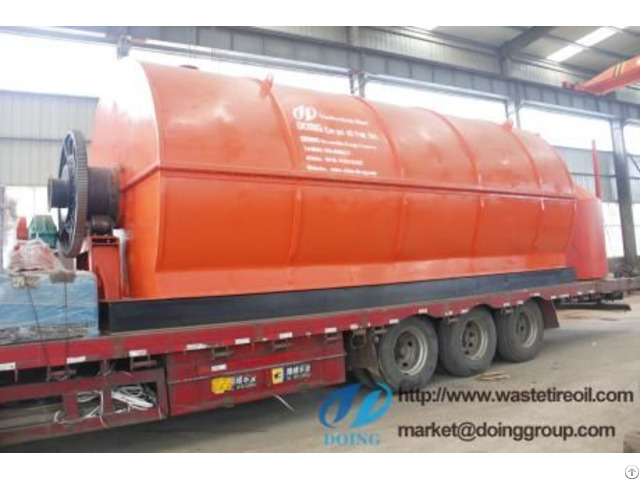 Waste Tyre Fuel Oil Pyrolysis Plant Will Delivered To Mexico