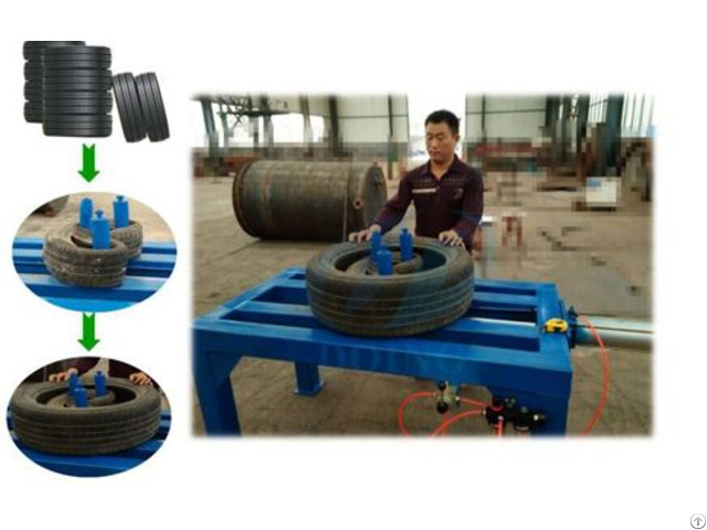 Waste Tire Packing Machine