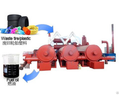 Continuous Waste Process Pyrolysis Plant