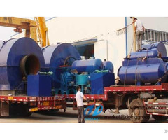 Tire To Diesel Fuel Recycling Pyrolysis Plant