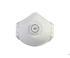 Mesh Shell Valved Ffp2 Particle Respirator