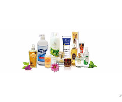 Plastic Self Adhesive Printed Labels In Cosmetics Bottle