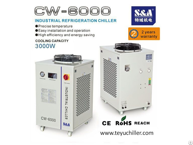 S And A Chiller With Temperature Control For Diode Pumped Laser