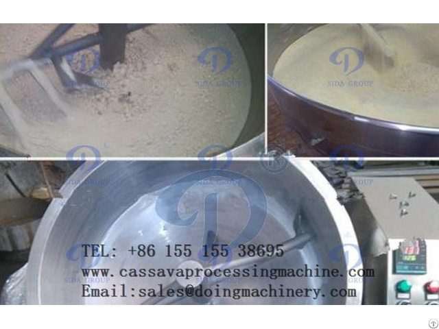Cassava Garri Fryer Machine