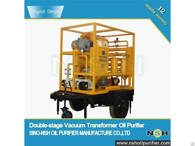 Vfd Transformer Insulation Oil Purifier