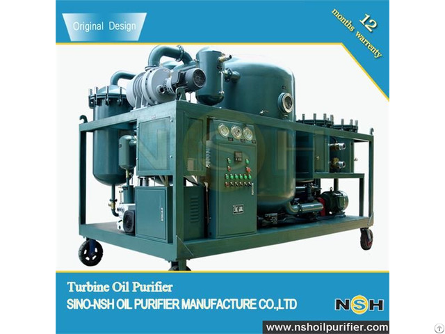 Tf Vacuum Turbine Oil Purifier