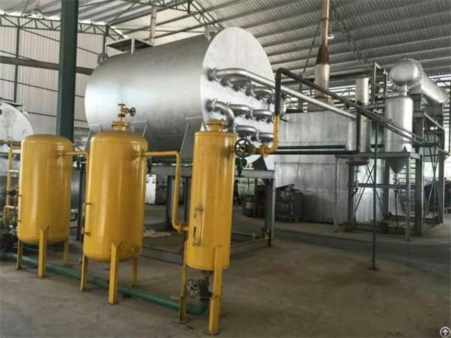 Ged Vacuum Distillation Waste Oil Regeneration System