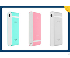 Multicolor Fast Charging Slim Pisen Power Bank 10000mah External Battery Charger