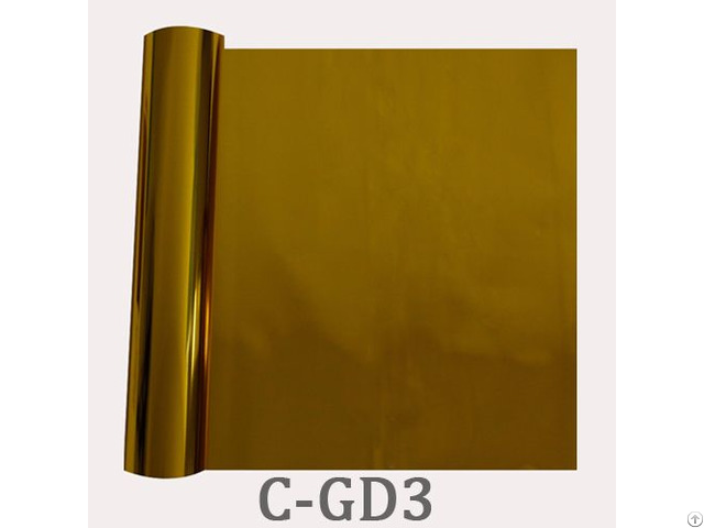 Golden Hot Transfer Textile Foil