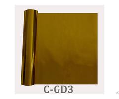 Golden Hot Transfer Textile Foil