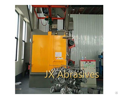 Hanger Shot Blasting Machine For Auto Parts