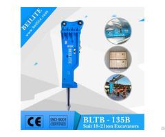Bltb 135 Hydraulic Breaker Hammer For 18 21 Ton Loader