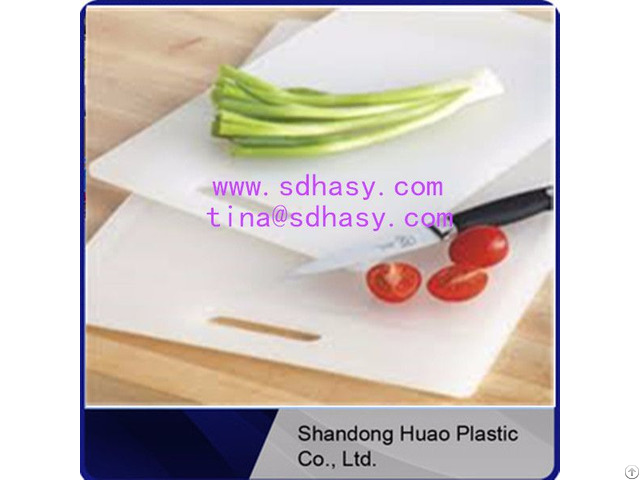 Eco Friendly China Factory No Toxic Pe Plastic Chopping Boards