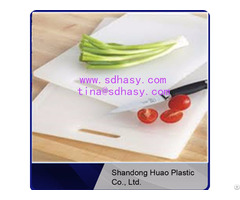 Eco Friendly China Factory No Toxic Pe Plastic Chopping Boards