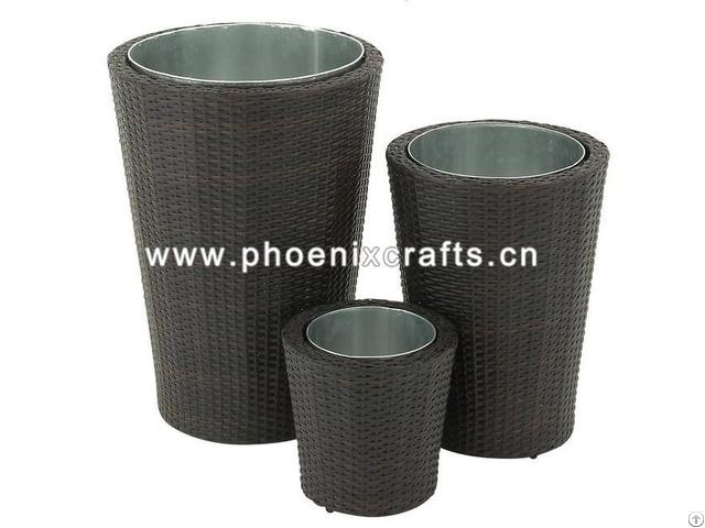 Plastic Vine Garbage Baskets