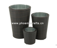 Plastic Vine Garbage Baskets
