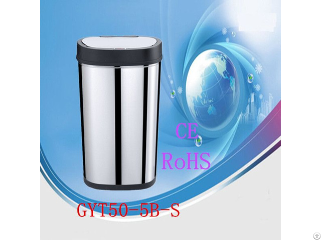 Outdoor Waste Can Steel Garbage Trash Bins Gyt50 5b S