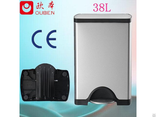 Soft Close Steel Trash Can Hot Bin For Sale Jc38 A