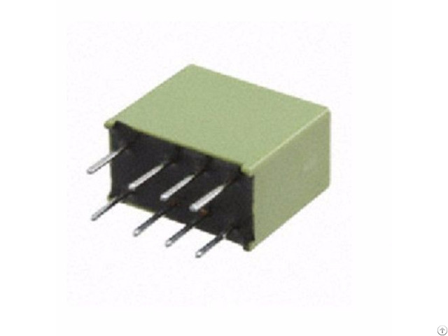 Panasonic Dpdt Pcb Mount Non Latching Relay 24v Dc Coil 1 A