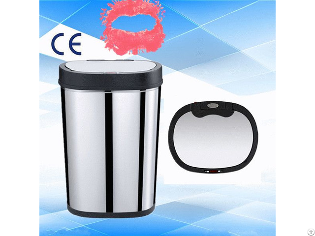 Stainless Steel Kitchen Trash Bin 40l Gyt40 5b S