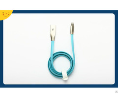 1000mm Zinc Alloy Charging Data Cable For Iphone