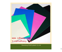 Competitive Price Of Uhmwpe Plastic Sheets