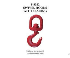 Crosby S 3322 Swivel Hooks With Bearing