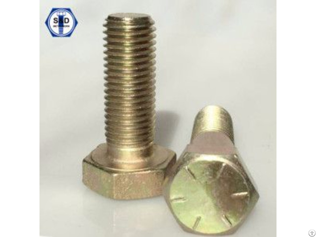Hex Bolts Sae J429 Gr 2 5 8