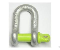 U S Type Screw Pin Chain Shackle