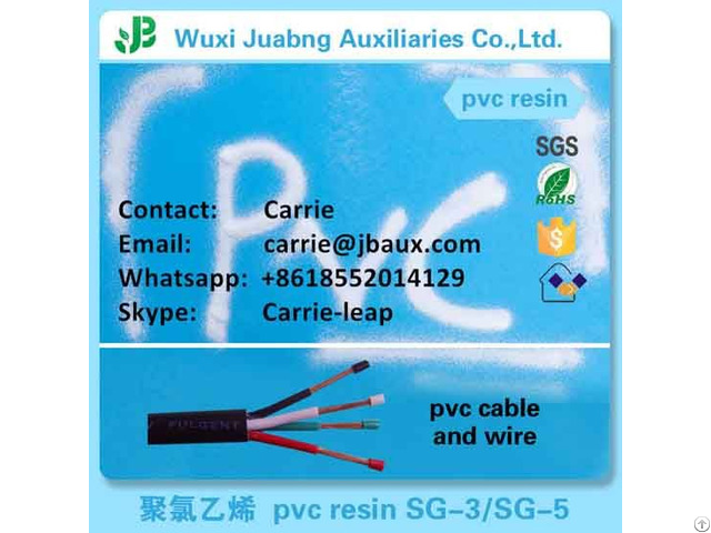 Pvc Resin For Cable And Wire