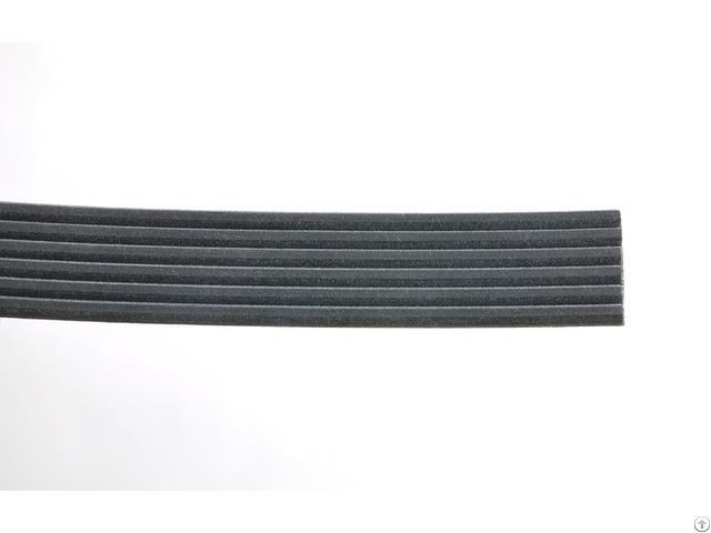 High Fexibility Automobile Top Quality Rubber Black V Ribbed Belt