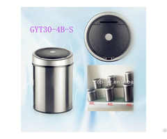 Round Trashcan 30l Kitchen Built In Dustbin Gyt30 4b S