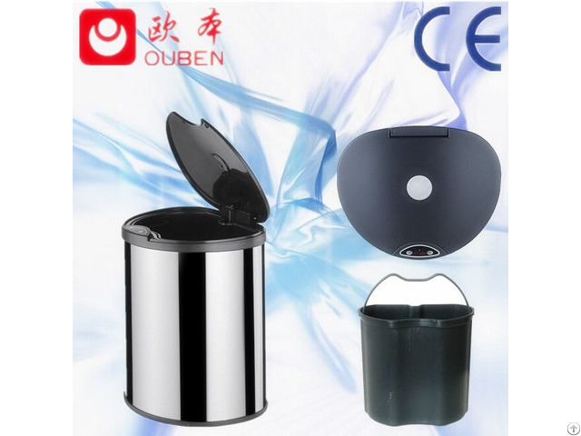 Stainless Steel Sensor Waste Automatic Bin Gyt14 3b Ys